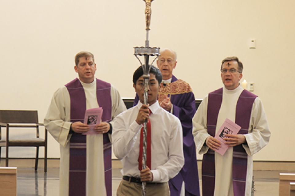 Image of Ash Wednesday Services