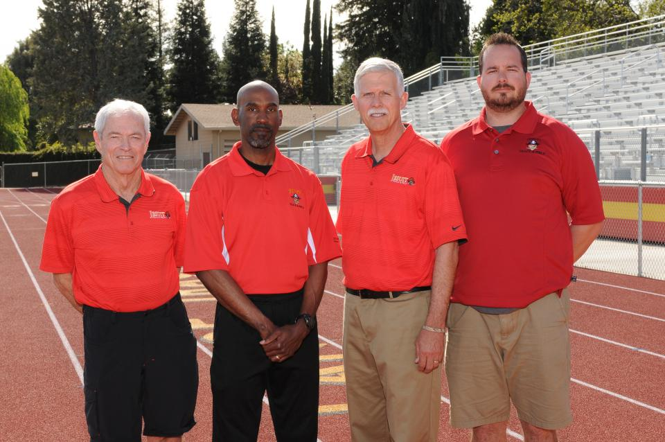 Pictured L to R: Walt Lange, Rod Jett, Tom McGuire, and John Badovinac