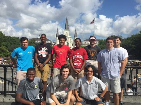 New Orleans Immersion Team, Summer 2016