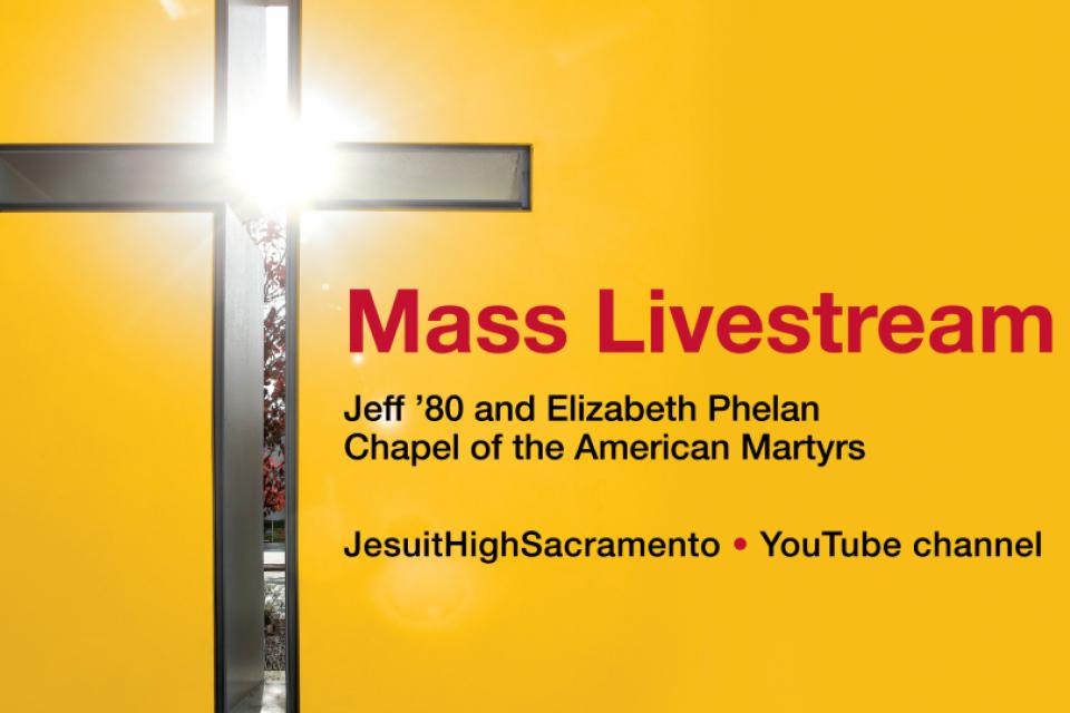 Mass Livestream on March 27, 2020