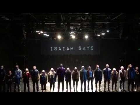 "Isaiah Says,…""Let it rain!!!"""